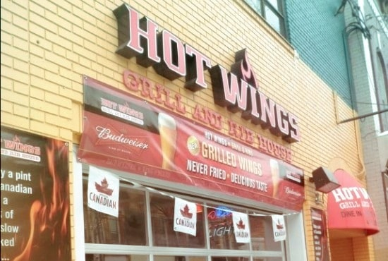 Hot Wings Grill & Rib House Toronto